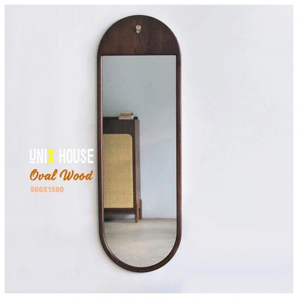 Gương đứng toàn thân Oval khuyết - OKC