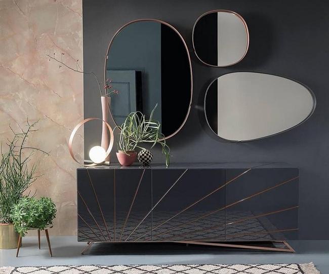 Những mẫu gương soi dùng cho nhà tắm có thiết kế đơn giản nhưng vô cùng ấn tượng
