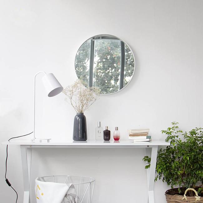 Những mẫu gương tròn đang ngày càng được khách hàng ưa chuộng trong trang trí nội thất