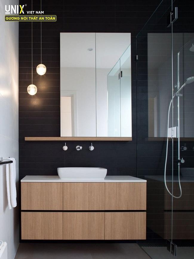 gương phòng tắm hình chữ nhật